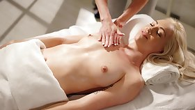Video of two blonde babes having passionate sexual intercourse - Lyra Law and Brandi
