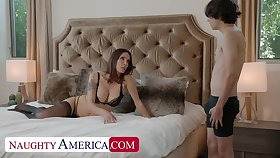 Naughty America: Shay Sights wants Ricky to do some chores and his cock!! on PornHD