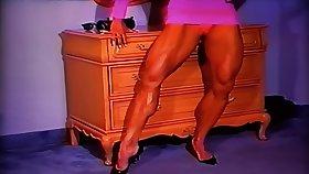 Arousingly Hot Muscle In Hot Pink Dress...Bombshell LDR Surpassing Fire