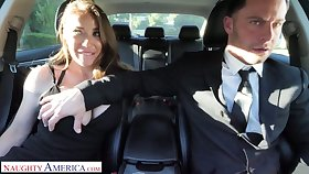 Whore get hitched Bianca Burke is cheating on her husband with his driver