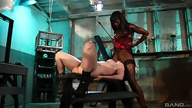Ebony thistledown plays helter-skelter her resulting girl pretty rough