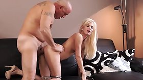 Old person cumshot compilation Horny blondie wants to